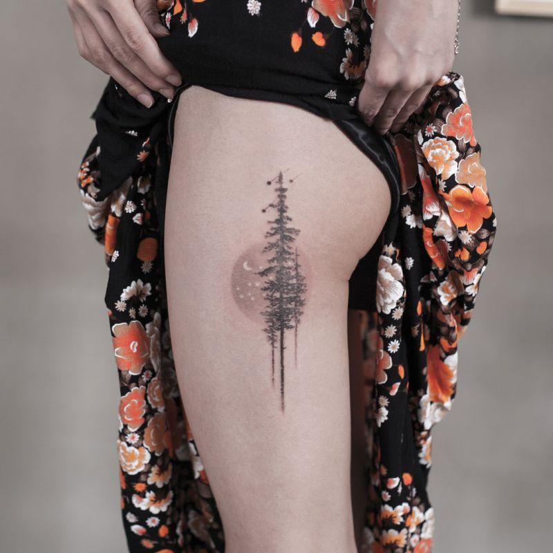 awesome tree tattoos