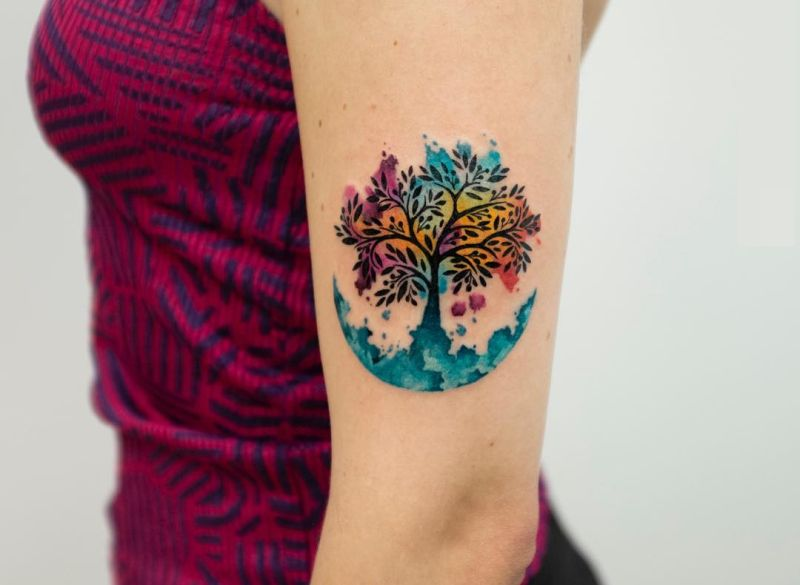 50 Gorgeous And Meaningful Tree Tattoos Inspired By Natures