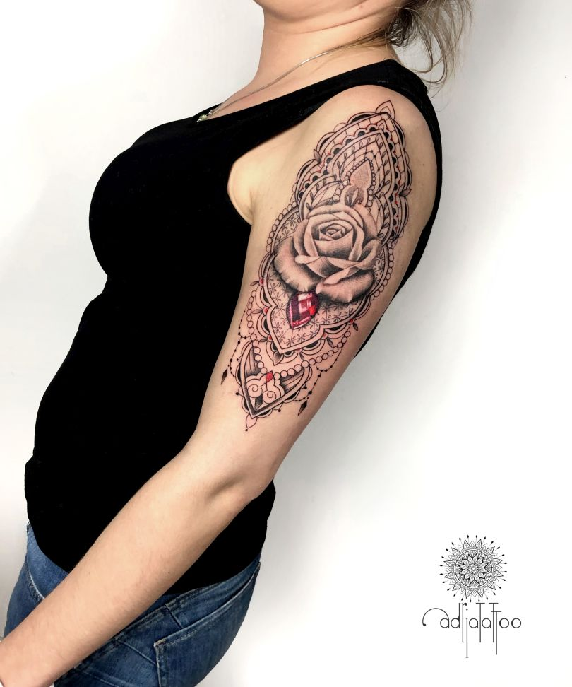 beautiful ornamental tattoos