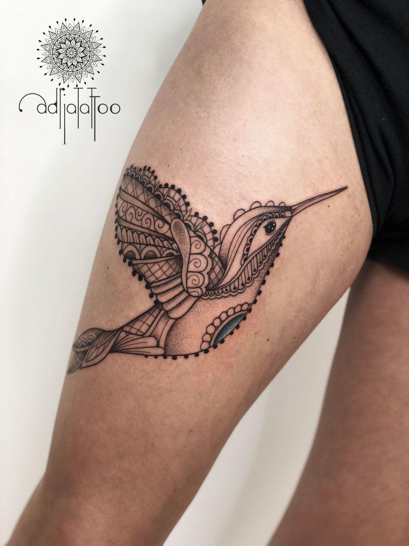 feminine tattoo Adrianna Sak