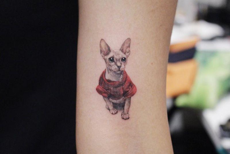 creative pet tattoos