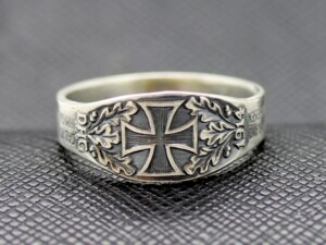 German rings WW2 DHG 1914 iron cross
