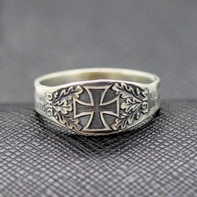 German rings WW2 DHG 1914 iron cross