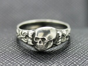 DEATH HEAD RING GERMAN RINGS GERMAN SKULL RING