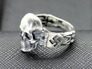 SS Death Head ring German rings German skull ring