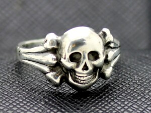 German ring SS Death Head