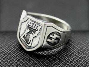 German 17th SS Panzergrenadier Division ring