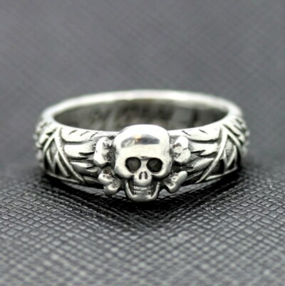 SS Honor TOTENKOPF Ring waffen ss runas skull