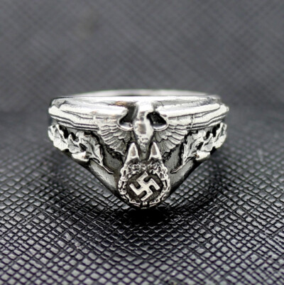 German ring ww2 eagle swastika