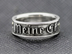 German rings ss Meine ehre heißt treue expressive letters