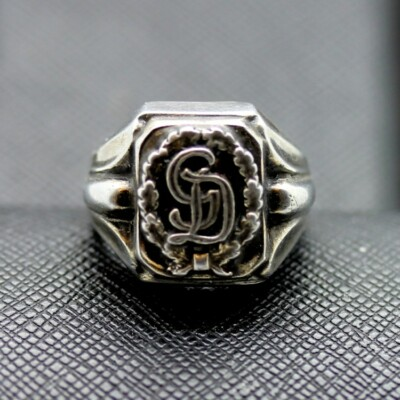 GERMAN SS RING GD silver