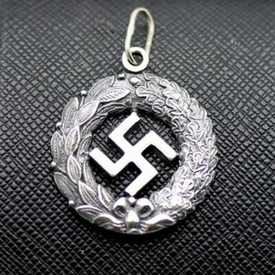 German ss nazi swastika pendant for sale