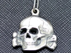 German ss nazi TOTENKOPF pendant