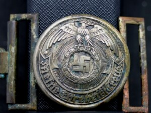 SS OFFICER'S BELT BUCKLE