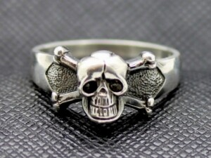 GERMAN HUSAREN RING sterling silver