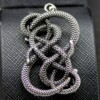 Neverending Story Auryn necklace Snakes