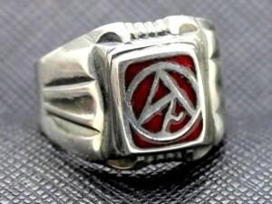 WW2 Sturmabtielung NSDAP Enameled Ring