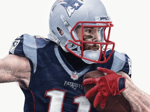 Portrait of Julian Edelman