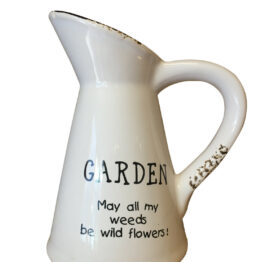 Ceramic Garden Jug Vase