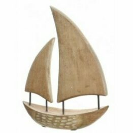 Nautical Mango Wood Boat