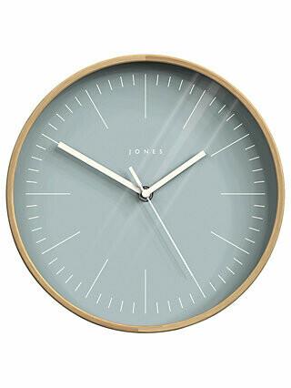 Jones Grey Scandinavian Kitchen Clock