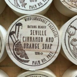 Seville Orange Cinnamon Soap