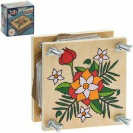 Retro Wooden Flower Press