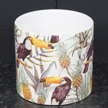 Toucan Tropical Plant Pot