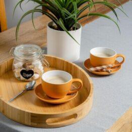 Yellow Coffee Cups
