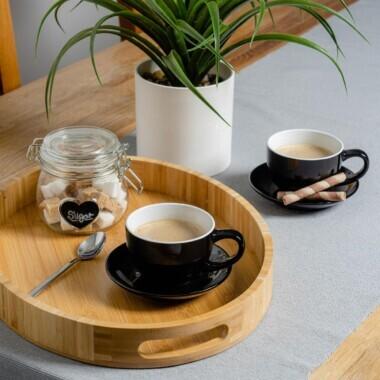 Black Coffee Cups