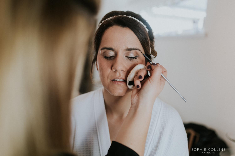 bride make-up