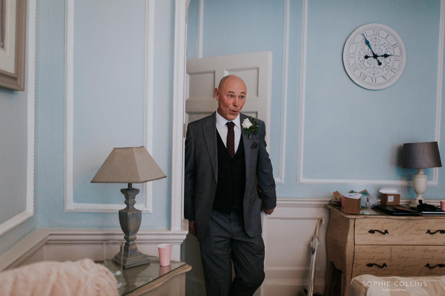 father of the bride dress reveal;