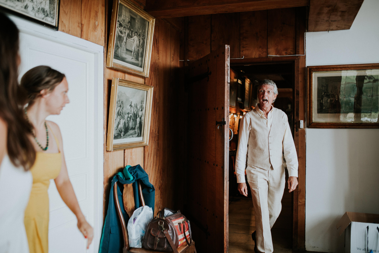 brides dad