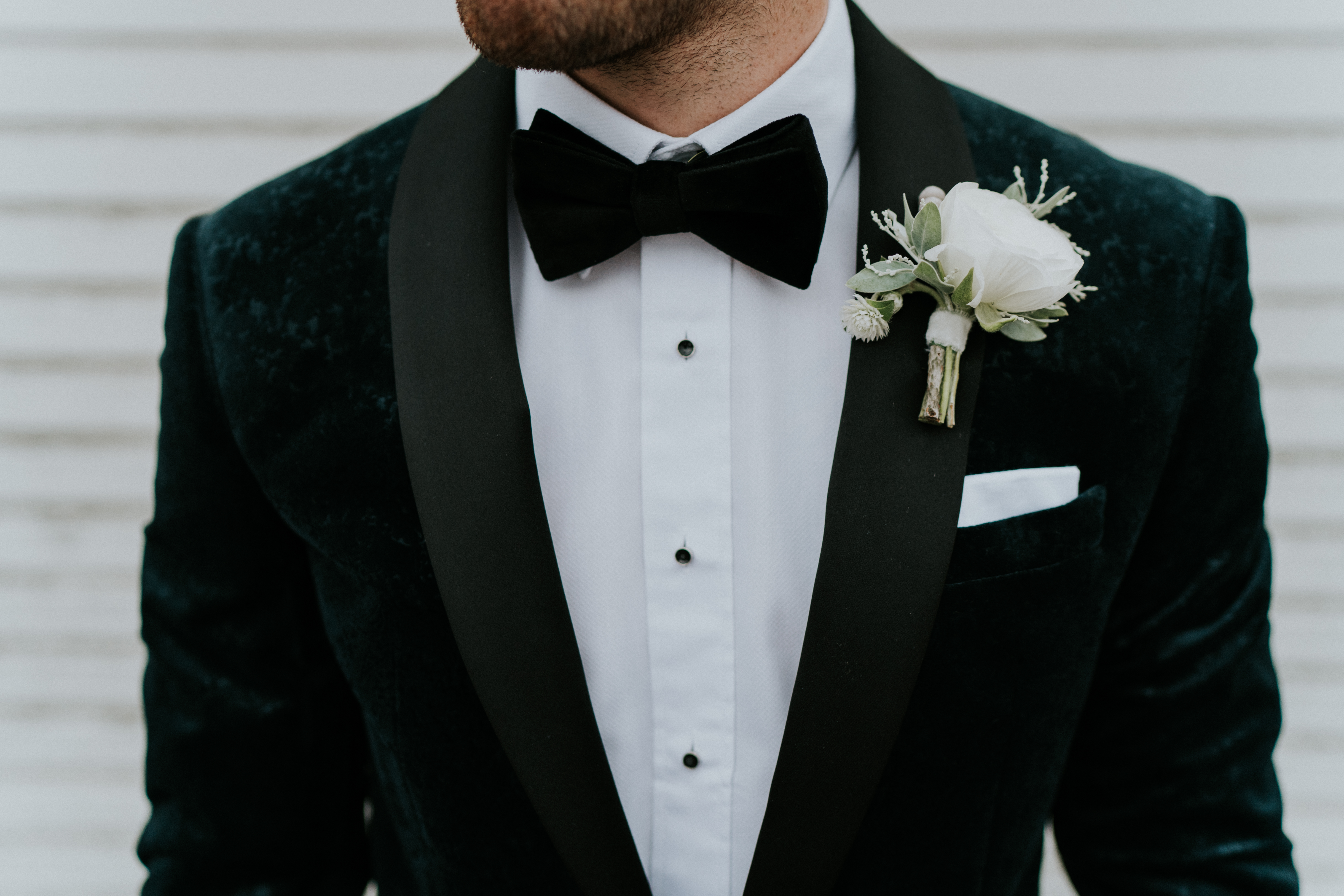 grooms clothing details