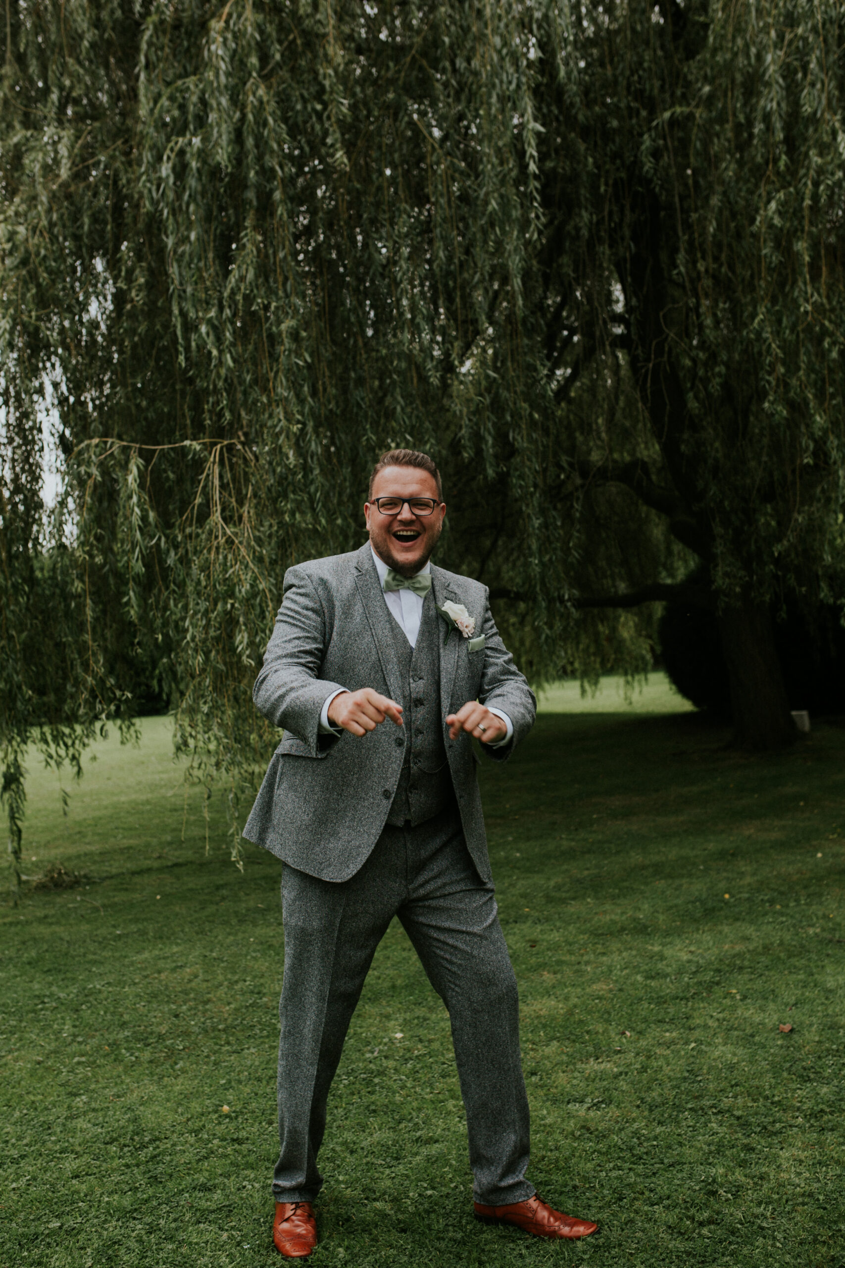 groom shot