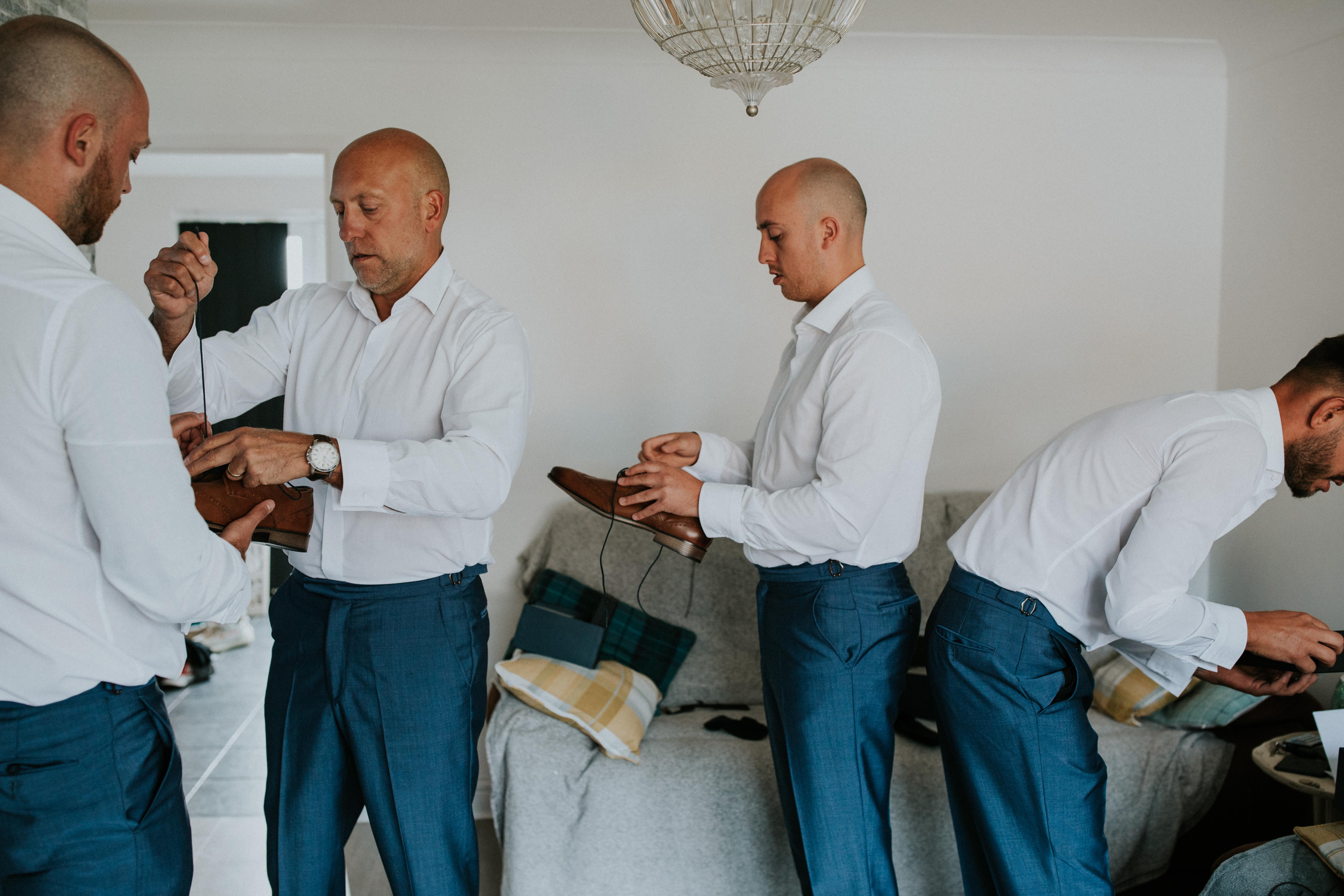 grooms prep