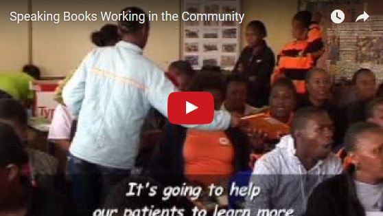 Speaking Books Working in the Community Video Thumbnail