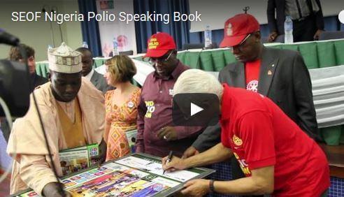 Speaking Books: Nigeria Polio Video Thumbnail