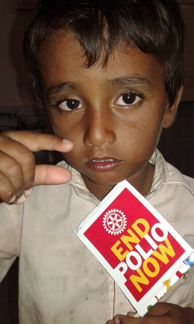 End Polio TV Appearance