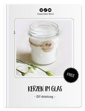 DIY Tutorial für romantische Kerzen im Glas von Kreativlabor Berlin