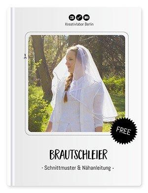 Beitragsbild für das kostenlose Schnittmuster eines Brautschleiers von Kreativlabor Berlin.