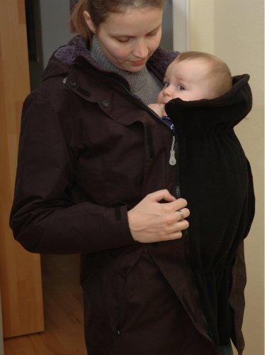 """Kostenloses Tutorial Tragejackeneinsatz """"Tajo"""" für das bequeme Tragen von Babys von Schnabelina"""