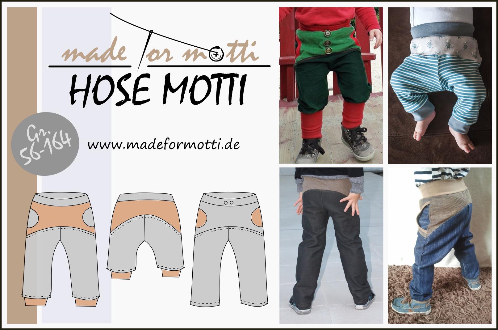 Titelbild für Schnittmuster Hose Motti von Made for Motti