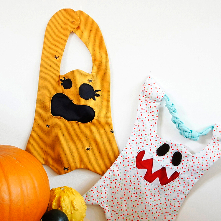 Kostenloses Schnittmuster Halloween Tasche von Frau Scheiner