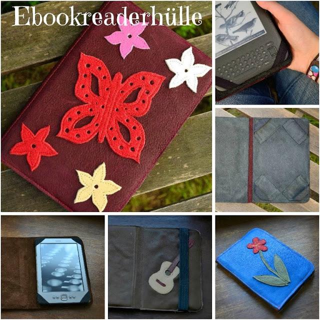 Kostenloses Tutorial E-Book Reader Hülle von Schnabelina