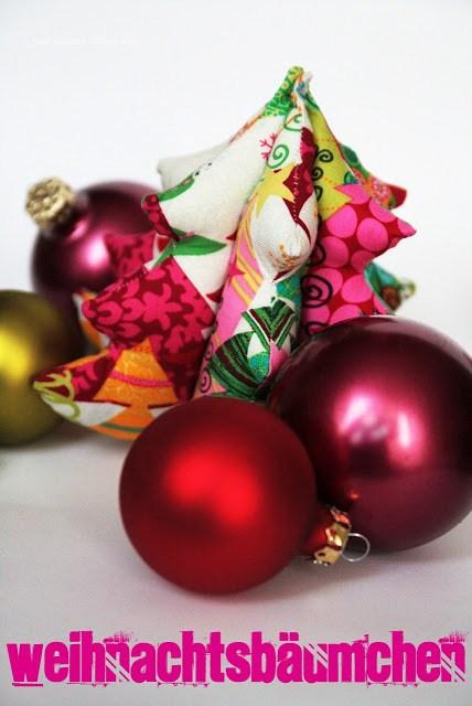 Stoffweihnachtsbaum genäht nach dem gratis Schnittmuster von Was eigenes.