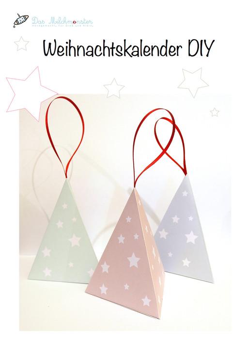 DIY Tutorial für einen Weihnachtskalender von Milchmonster