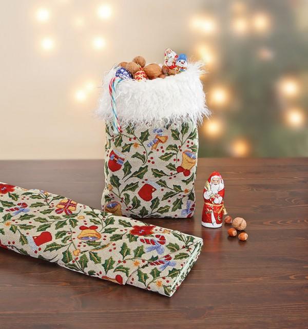 Fertiggenähte Nähanleitung für einen Nikolaussack von Buttinette