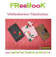 Kostenloses Schnittmuster für ein Visitenkarten Täschchen von Eva Kartoffeltiger