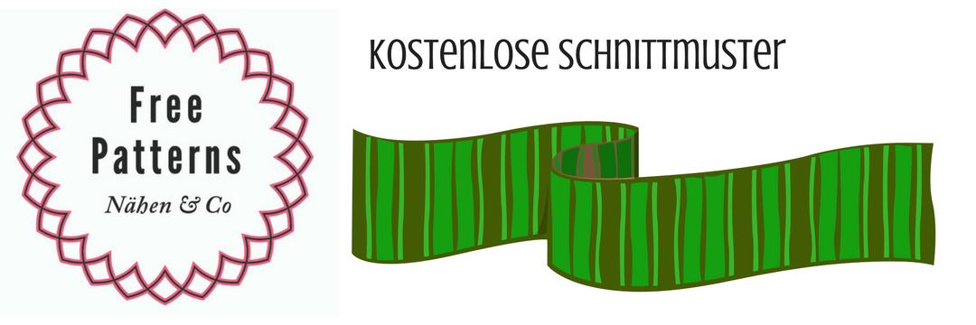 Logo Free Patterns für Schnittmuster rund um das Thema Accessoires - Schals, Mützen, Hüte, Schmuck & Co nähen
